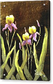 Acrylic Print featuring the painting Spring Wonder by Vic  Mastis