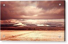 Springerville Arizona View Acrylic Print by Donna Greene