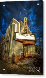 Springs Theater Co Acrylic Print by Marvin Spates
