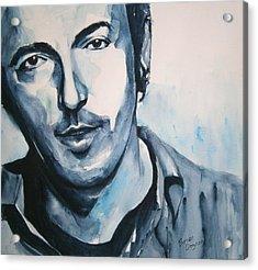 Springsteen Acrylic Print by Brian Degnon