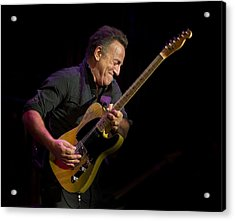 Springsteen Shreds Acrylic Print
