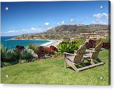 Springtime At Salt Creek Beach Acrylic Print by Cliff Wassmann