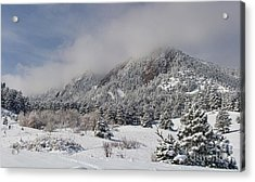 Springtime Colorado Rocky Mountains Boulder Acrylic Print by James BO  Insogna