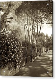 Springtime In Montreux Acrylic Print