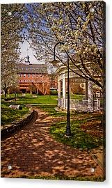 Springtime In Rotary Riverside Park Acrylic Print