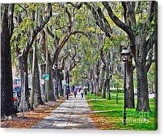 Springtime In Savannah Acrylic Print