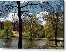 Springtime In The Country Acrylic Print by Gemblue Photography