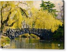 Springtime In Victoria Acrylic Print