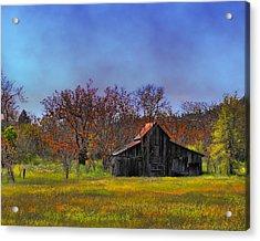 Springtime Sonora Barn Acrylic Print