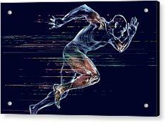 Sprinter Acrylic Print