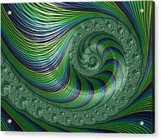 Spriral Bliss Acrylic Print