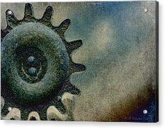 Sprocket Acrylic Print by WB Johnston