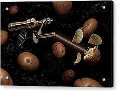 Spuds The Final Frontier Acrylic Print by Randy Turnbow