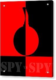 Spy Vs Spy Acrylic Print