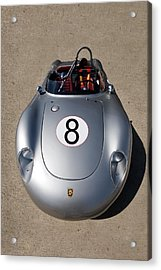 Spyder Race Car Acrylic Print by Peter Tellone