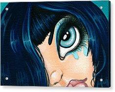 Spying Fae 01 Acrylic Print by Elaina  Wagner