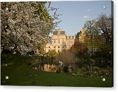 Square Du Temple Acrylic Print by Art Ferrier