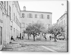 Square Life In Provence Acrylic Print
