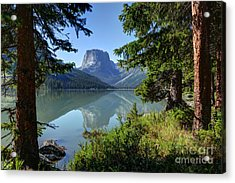 Squaretop Mountain - Wind River Range Acrylic Print