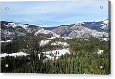 Squaw Valley Acrylic Print by Phil Gorham