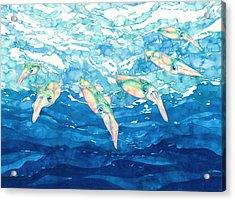 Squid Ballet Acrylic Print