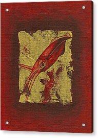 Squid Acrylic Print