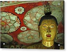 Sri Lanka, Dambulla, Dambulla Cave Acrylic Print by Stephanie Rabemiafara