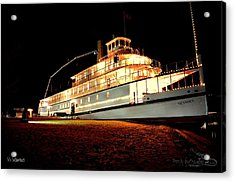 Ss Sicamous Frontview 1/21/2014  Acrylic Print