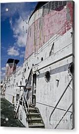 Ss United States Smokestakes By Jessica Berlin Acrylic Print by Jessica Berlin