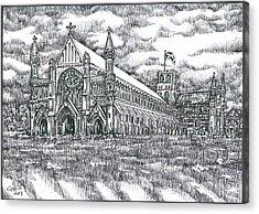St Albans Abbey - England Acrylic Print