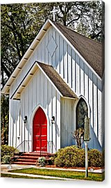 Acrylic Print featuring the photograph St. Alban's Episcopal by Linda Brown