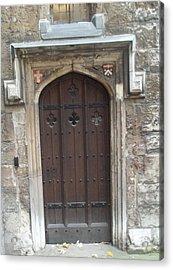 St. Andrew's Door Acrylic Print by James Potts