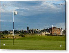 St Andrews Golf Acrylic Print