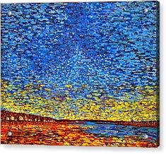 St. Andrews Sunset Acrylic Print