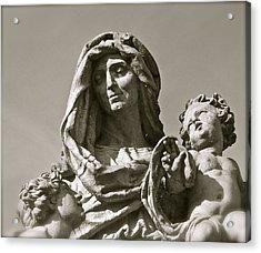 St Anne Detail Acrylic Print
