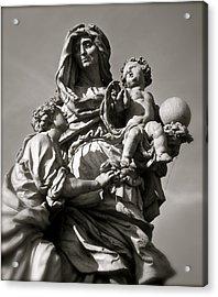 St. Anne Acrylic Print