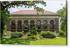St Anthony Park Library Acrylic Print