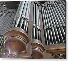 St Augustin Organ Acrylic Print