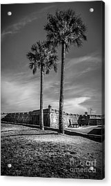 St. Augustine Fort Acrylic Print