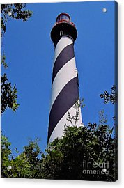 St Augustine Lighthouse Acrylic Print by D Hackett