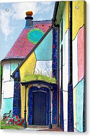 St Barbara Church - Baernbach Austria Acrylic Print by Christine Till