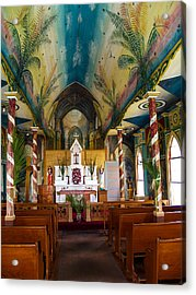St Benedicts Acrylic Print by Randy Sylvia