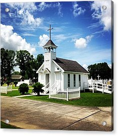 St. Bridgette's Chapel #church Acrylic Print