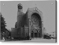 St Casimir's 10267 Acrylic Print by Guy Whiteley