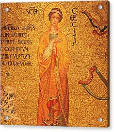 St Cecilia  Acrylic Print by Philip Ralley