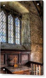 St Celynnin Church Acrylic Print by Adrian Evans