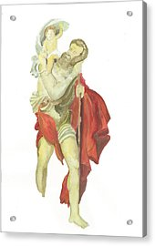St. Christopher 2  Acrylic Print