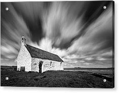 St Cwyfan's Church Acrylic Print