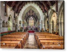 St Davids Church Acrylic Print by Adrian Evans
