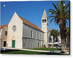 St Dominic Monastery In Trogir Acrylic Print by Kiril Stanchev